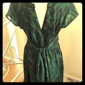 eShakti Custom plus size Dress Size XL